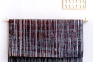 Assemblage#2 2018 Peinture sur papier industriel et sérigraphie 115x175cm.