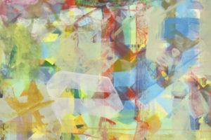 Boudoir#1 2018 Huile et acrylique sur toile 70X55cm.