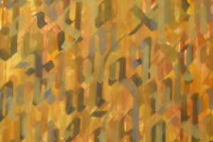 Calligraphie37 2017 Acrylique sur toile 190x120cm