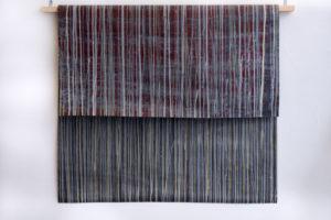 Coulure#3 2018 Acrylique sur papier industriel 115x100cm.