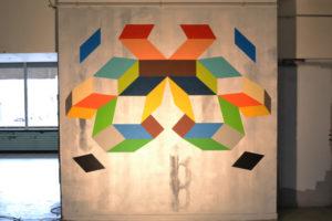 Geometria 6B Fresque pour les Portes ouvertes 2015