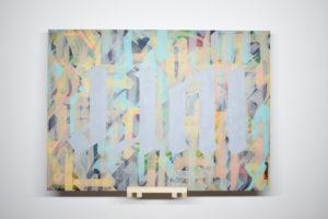 Gris 2020 Acrylique sur papier 75 x 54 cm