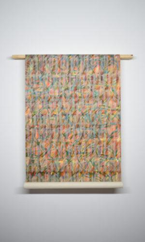 H 2019 Acrylique sur toile105 x 90 x 22 cm